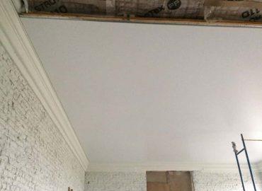 Įtempiamų lubų montavimas 4
